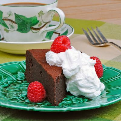 Flourless Chocolate Chipotle Almond Cake | desserts | Pinterest