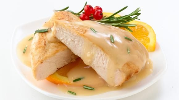 The delicate flavors of orange & rosemary make this chicken dish ...