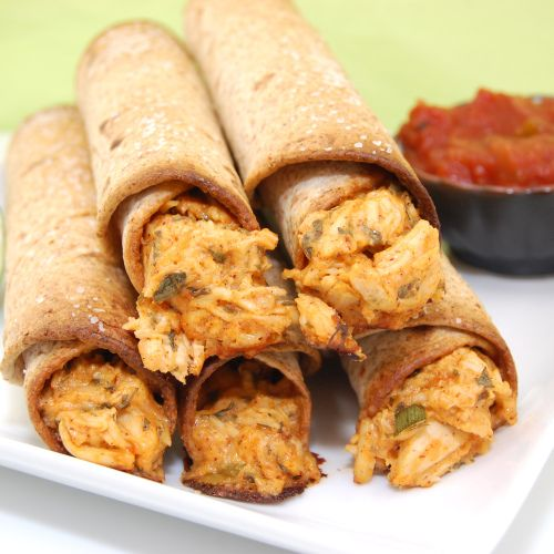 Baked Chicken And Sharp Cheddar Taquitos Recipes — Dishmaps