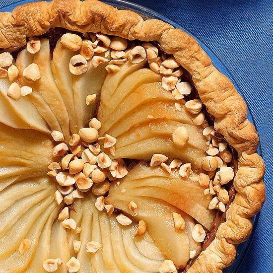 Black-Bottom Pear Pie | Thanksgiving Recipes | Pinterest