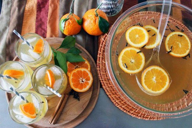 orange ginger rum punch | Thirst quencher | Pinterest