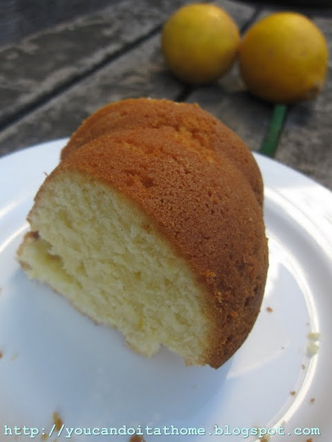 Sour Lemon Cake Recipe — Dishmaps