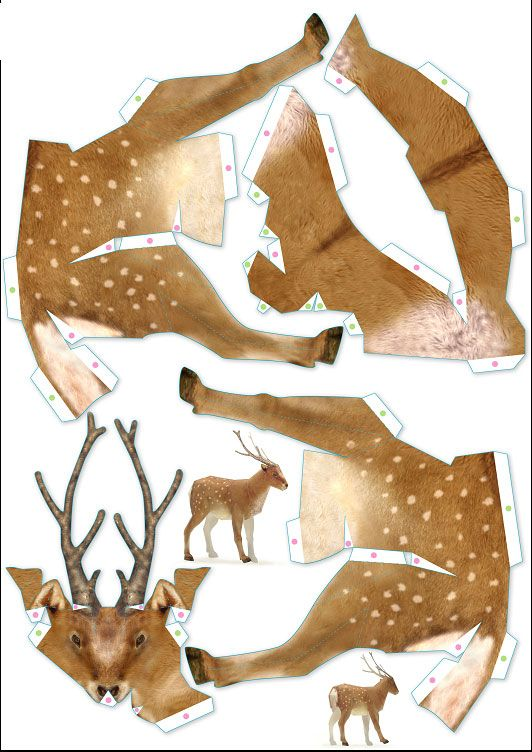 Животных из бумаги своими руками 94