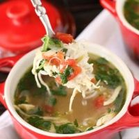Green Chili Chicken And Lime Soup Recipe | recipe ideas | Pinterest