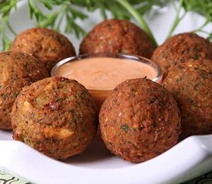 Fava bean falafel | Beautiful {Vegan} Food | Pinterest