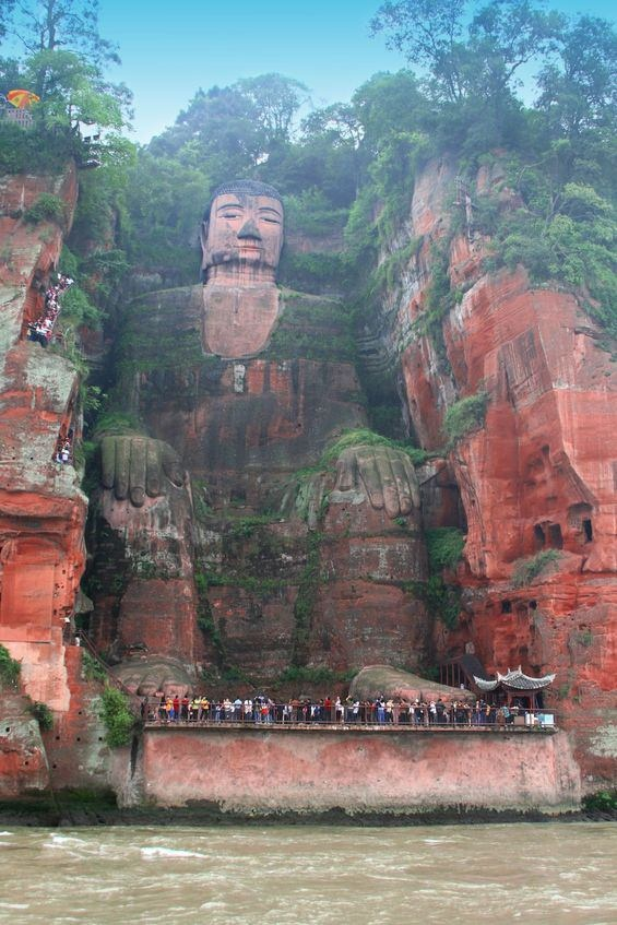 Unesco world heritage sites is leshan giant buddha located in sichuan