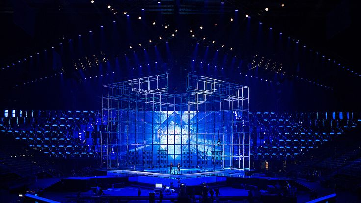 eurovision projection mapping