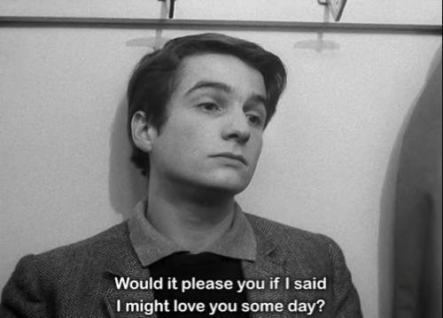 Masculin Feminin. 1966.  Jean Luc Godard.