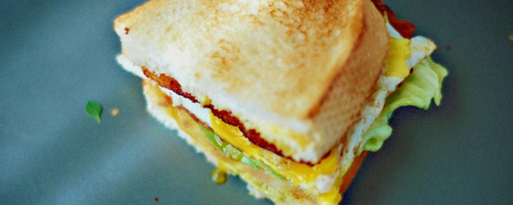 BLT with egg #brunch #yum | the incredible egg! | Pinterest