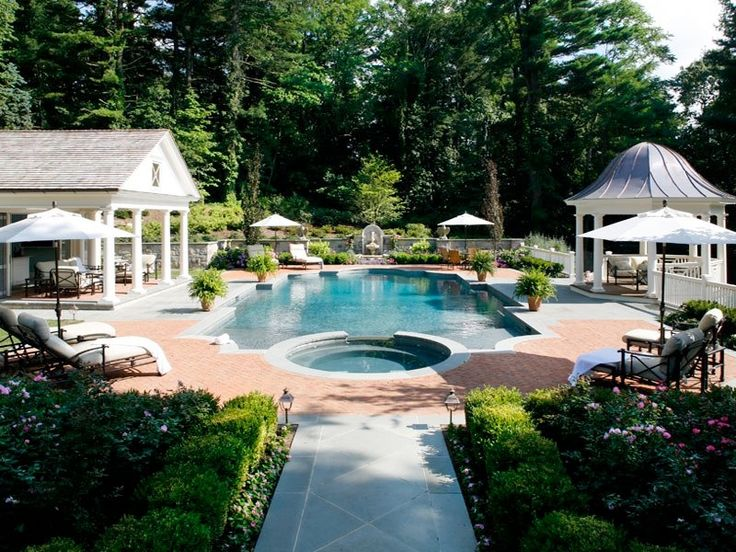 Pictures Of Beautiful Backyard Pools : Beautiful backyard and pool  Pool Party~  Pinterest