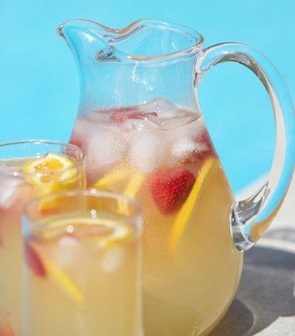Sangría blanca | Food - Beverages | Pinterest