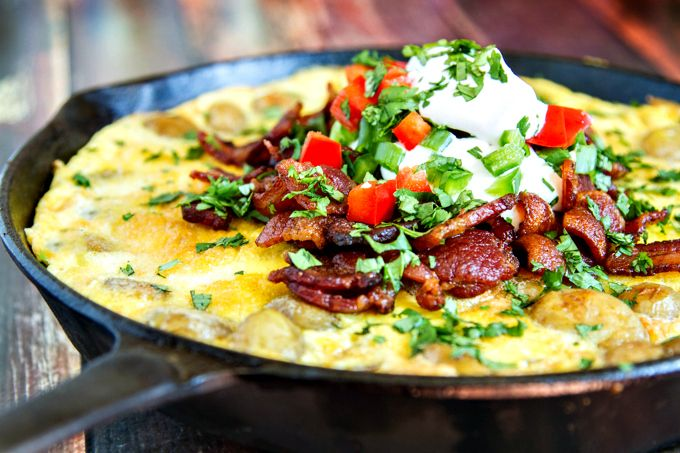 masala and egg skillet recipes dishmaps potato masala and egg skillet ...