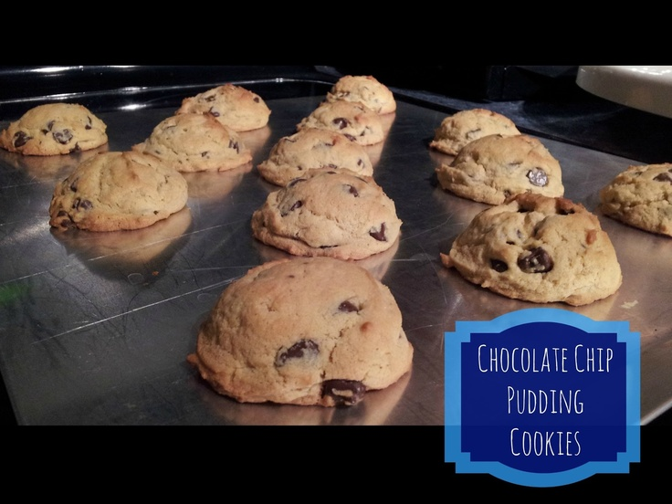 Chocolate Chip Pudding Cookies | Yumalicious Foods I've Made! | Pinte ...