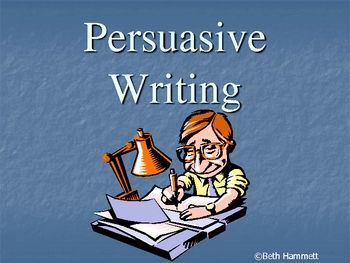 Persuasive Essay-Writing