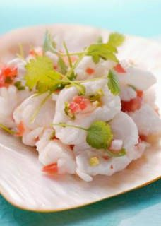 Mixed Seafood Ceviche | Mostly Healthy Food & Drink | Pinterest