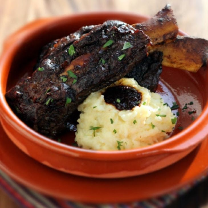 Short Ribs Braised in Coffee Ancho Chile Sauce II Recipe
