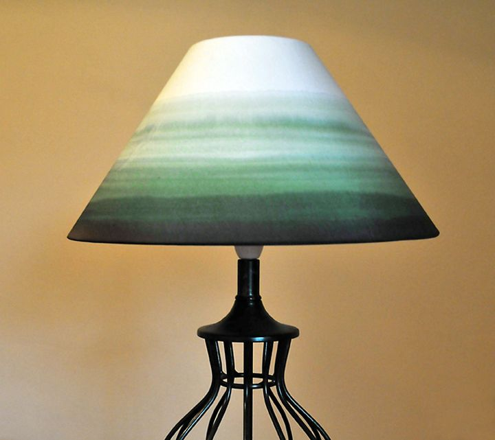 Hand painted lampshades lamp shade ideas pinterest for Painting light shades