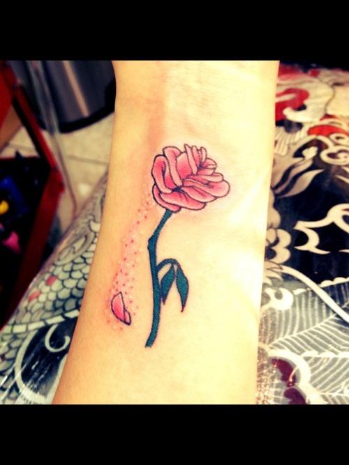 beauty & the beast tattoo | Tattoos | Pinterest