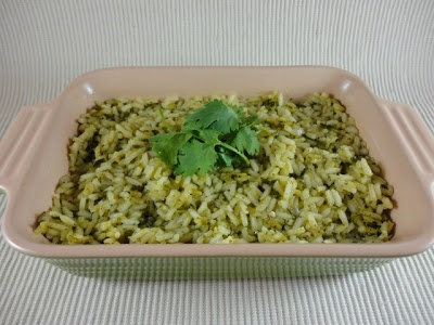 Mexican Green Rice I made this and the only thing that I would is salt ...
