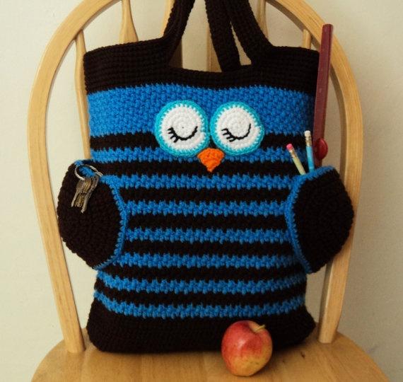 Tote Bag Design Owl Tote Bag Pattern