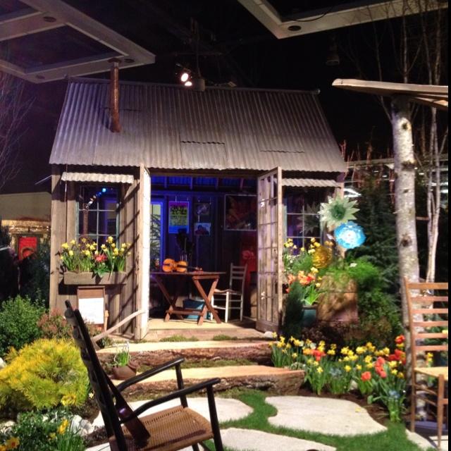 Cute Backyard Sheds : Cute garden shed!  Greenhouse Envy  Pinterest