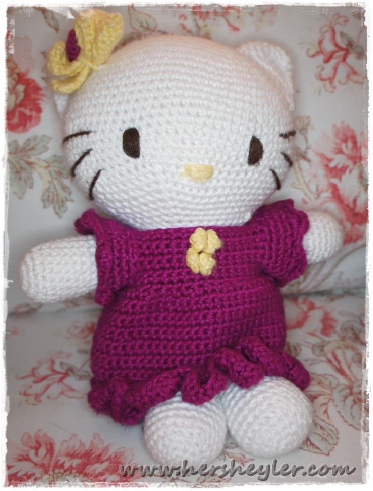 Tuto Gratuit Amigurumi Hello Kitty : Amigurumi Hello Kitty Cool Ass Hello Kitty Dolls Pinterest