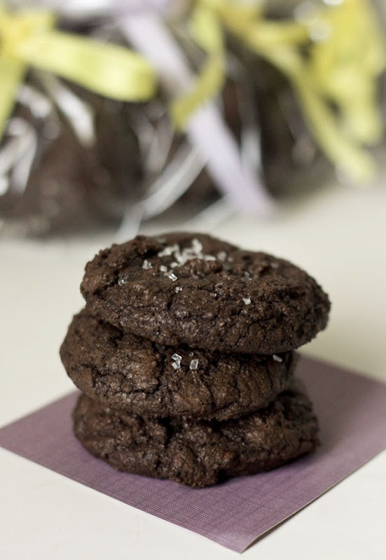 Double Chocolate Espresso Cookies - adapted from Martha Stewart