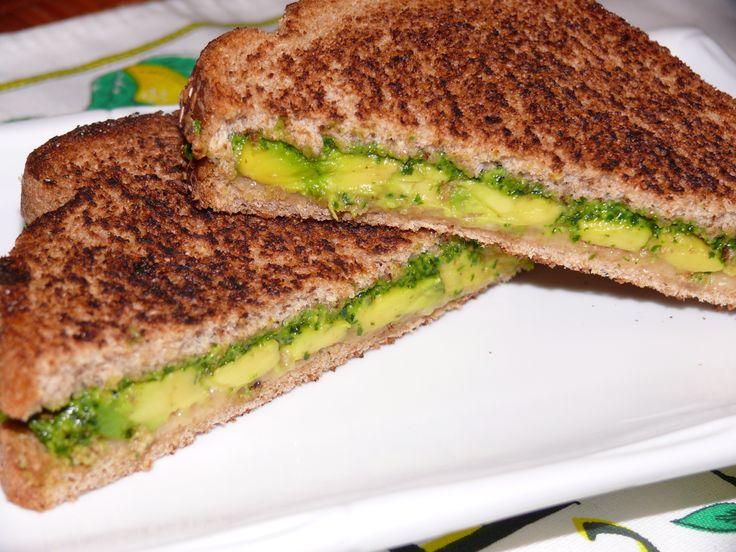 Cheese, Tomato & Tofu Sandwich With Avocados Recipe — Dishmaps