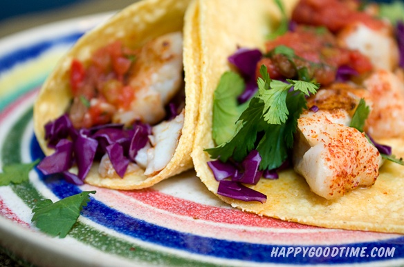 Grilled Red Snapper Tacos. 15 min including prep time? I'll believe it ...