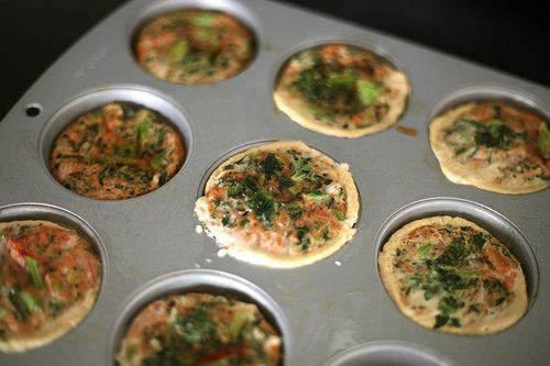 & Egg White Muffin Cups.... made these with a little bit of cheese ...