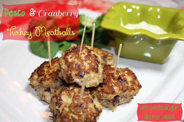 Turkey Pesto Meatballs With Homemade Tomato Sauce Recipes — Dishmaps