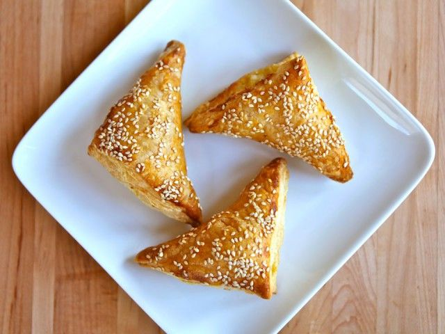 Recipe for Cheese Bourekas filled with creamy and salty feta cheese ...
