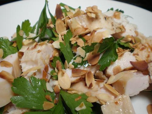 Chicken Salad With Almonds Recipe — Dishmaps