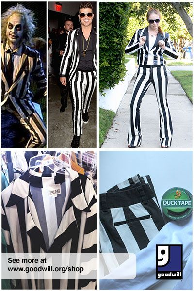 DIY Robin Thicke Beetlejuice costume Read more on goodwill orgBeetlejuice Costume Diy  sc 1 st  Intellego.info & Beetlejuice Costume Diy - intellego