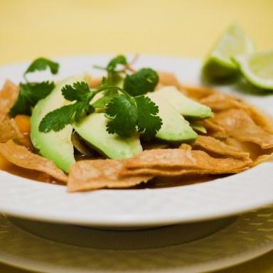 Daniel fast-Vegan Tortilla Soup | Daniel Fast | Pinterest