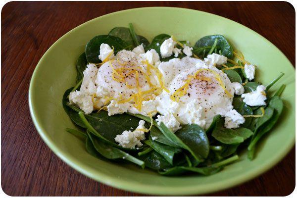 breakfast salad | Bread, Muffins, and Breakfast | Pinterest