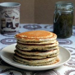 Poppy Seed Pancakes (in Spanish) | Food and Drink | Pinterest