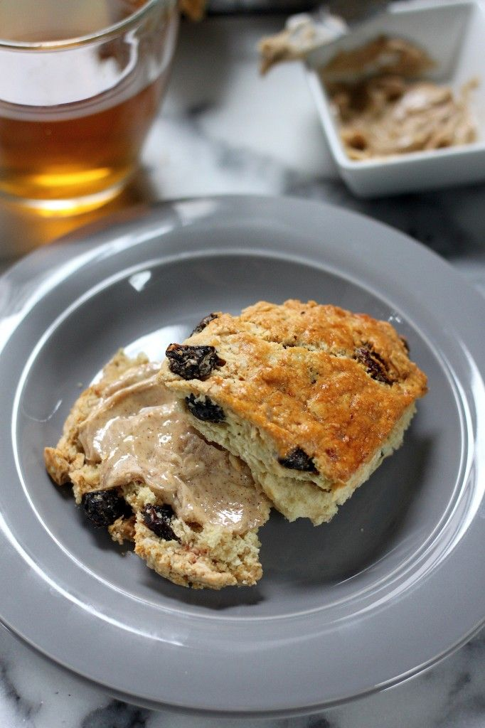 Irish Soda Bread Scones with Honey Cinnamon Butter | Baker by ...