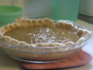 Home made Butterscotch Pudding (Pie) | PUDDINGS, MOUSSE, PARFAITS, TR ...