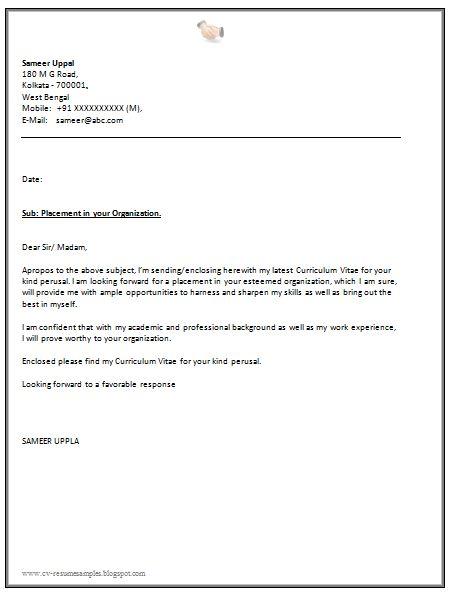 sample cover letter for essay