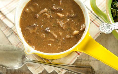 vegan mushroom gravy a la whole foods ;)