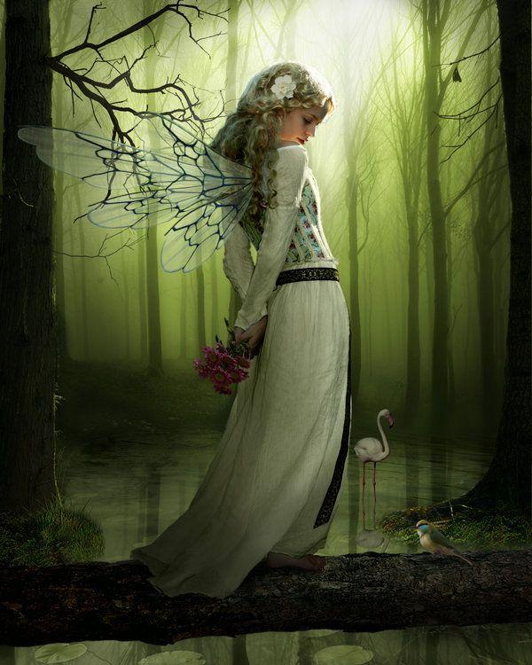 ✯ Green Fairy .:☆:. Artist Derek Brewster ✯