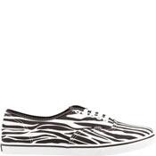 VANS Authentic Lo Pro Womens Shoes - Zebra