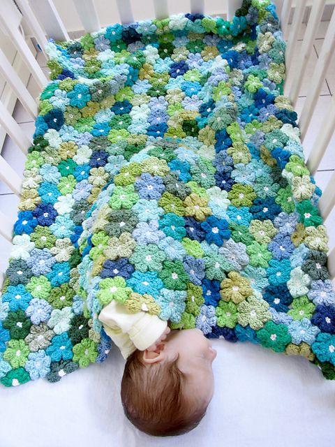 Floral Baby Blanket