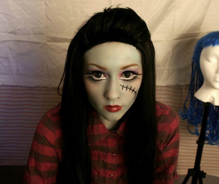 Zombie makeup ideas - Alex as Zombierina | For the Kids ...