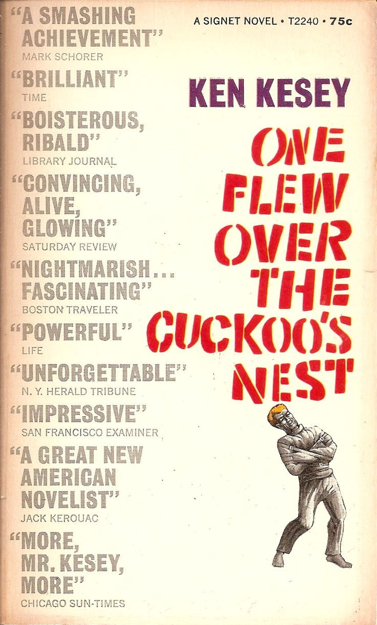 a review of ken keseys novel one flew the cuckoos nest Abebookscom: one flew over the cuckoo's nest (9780451163967) by ken kesey and a great selection of similar new, used and collectible books available now at great prices.