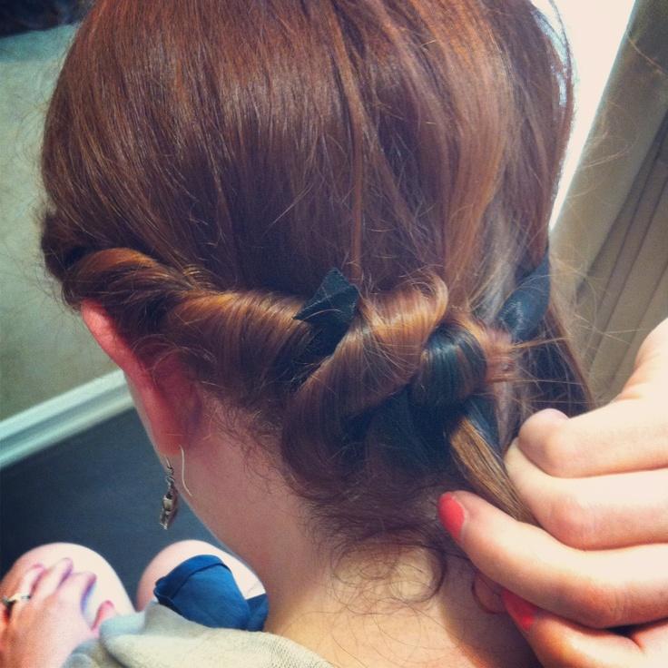 Tutorial: No Heat Headband Curls