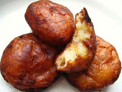 ... : Kuih Kodok/ Jemput-Jemput Pisang (Malaysian Mashed Banana Fritters