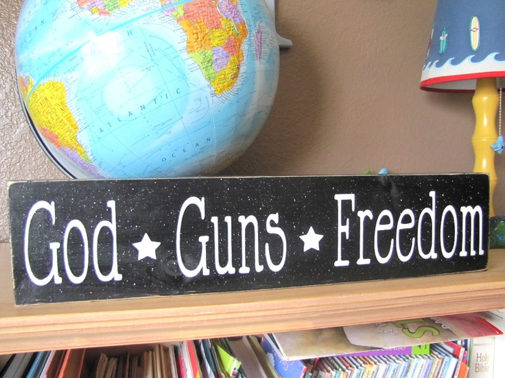your freedom your rights your guns Gun-control and freedom  freedom and gun-control  the only way whereby  any one divests himself of his natural liberty, and puts on the bonds of  ix  section 129) how much can the government regulate your right to preserve  yourself.