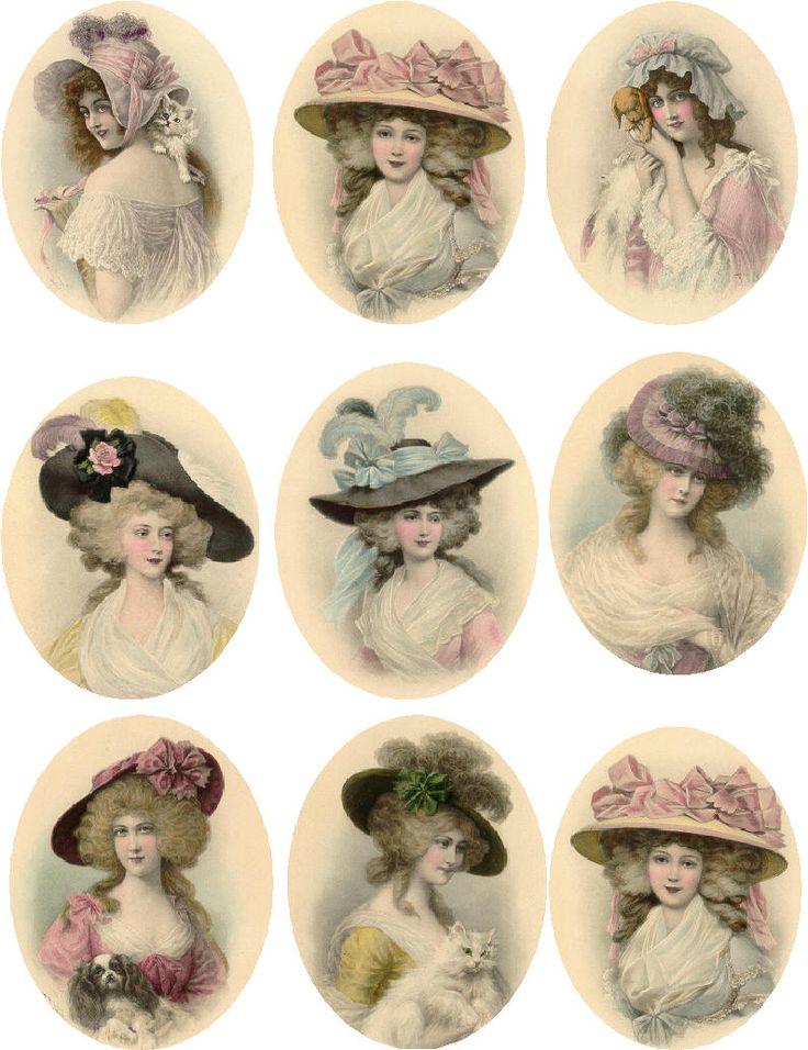 Vintage Victorian Ladies (JPG)